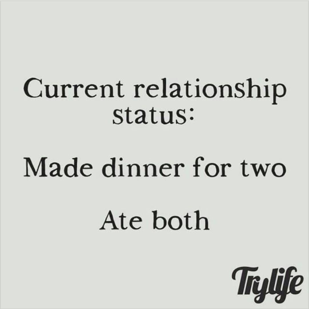 Single humor #morefoodforme #foodlover | Funny :) | Single ...