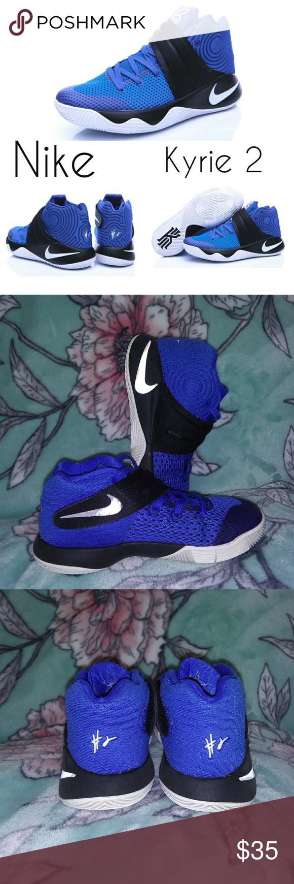 Nike Kyrie 2 Boys Sneakers Blue/white
