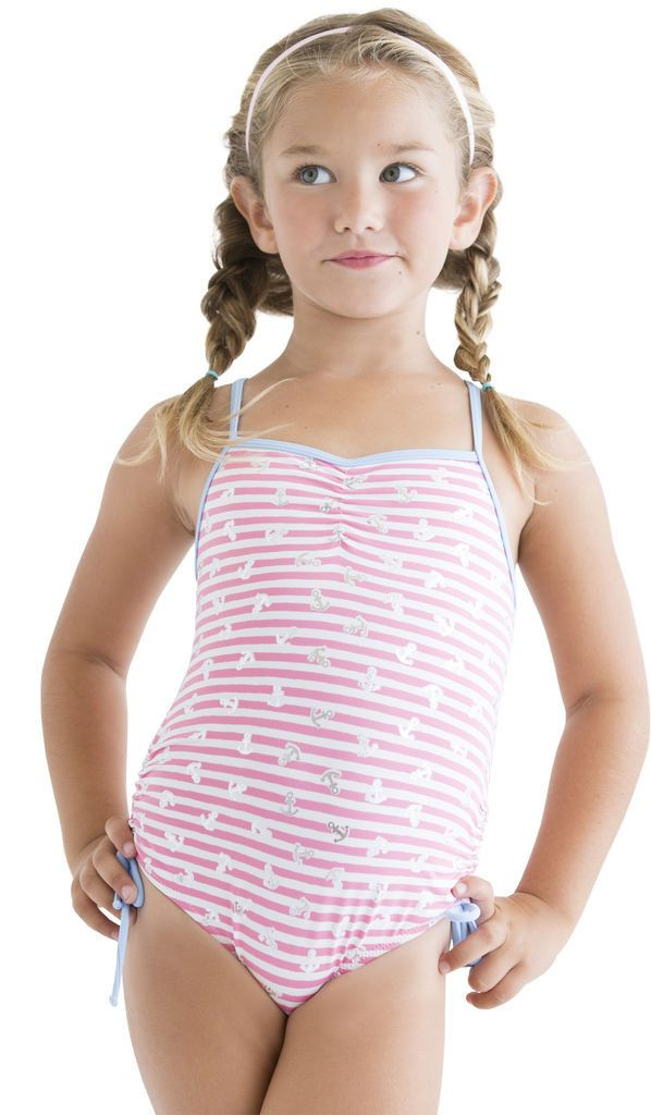 4ac3906f0c0 Stella Cove Pink Anchor Swim Suit (Size 4 | Bathing suits | Girls ...