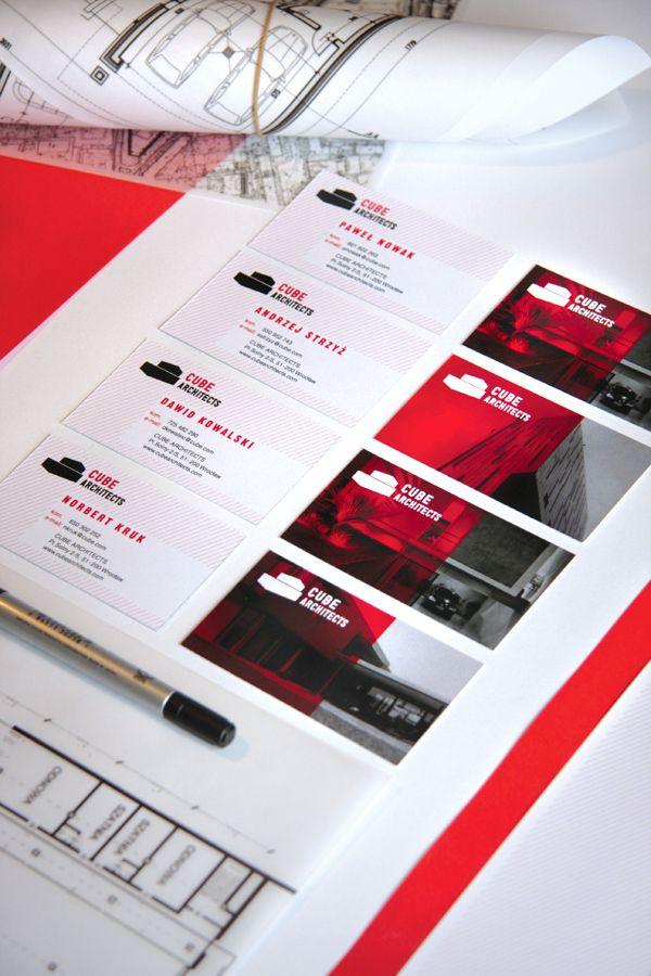 biz card / CUBE ARCHITECTS