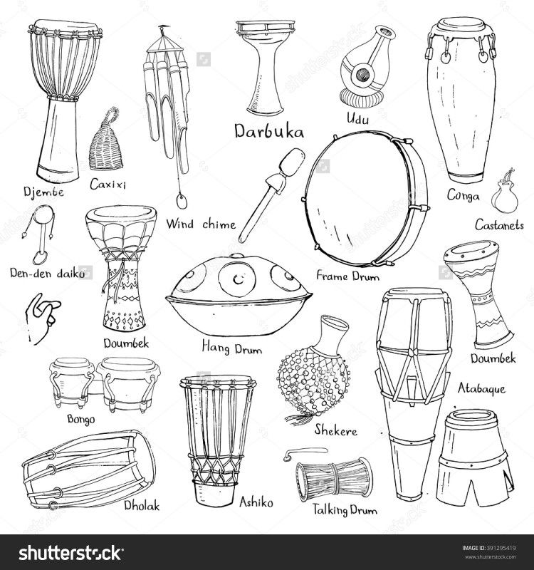 Drum Drawing Image By Sarah Becky Wheeler On 1020 South Ways To