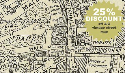 Vintage London Map Wallpaper Dream Home