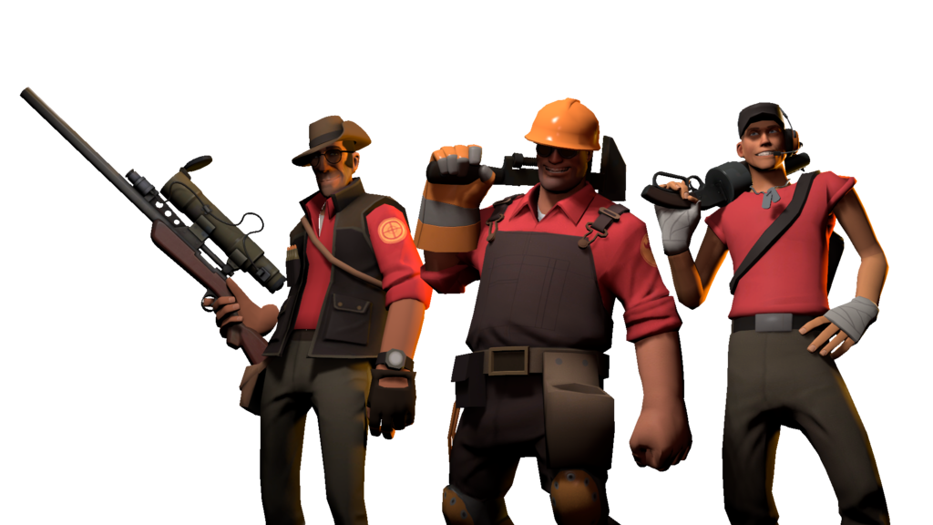 Sfm Sniper Engineer And Scout By Sharpe Fan Deviantart Com On Deviantart Team Fortess 2 Team Fortress 2 Team Fortress