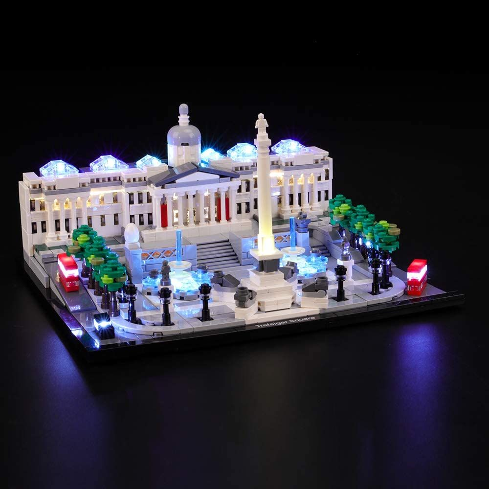 Briksmax Led Beleuchtungsset Fur Lego Architecture Trafalgar Square Kompatibel Mit Lego 21045 In 2020 Led Beleuchtung Led Licht