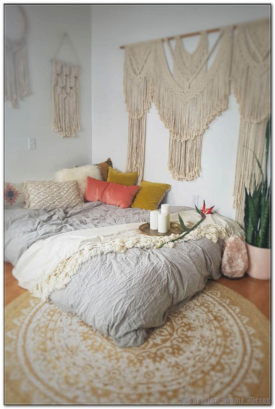 How To Make More Bohemian Home Decor By Doing Less