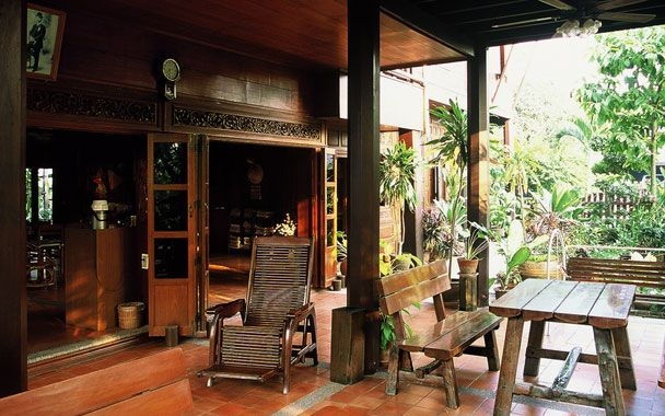 Building plans thai style house