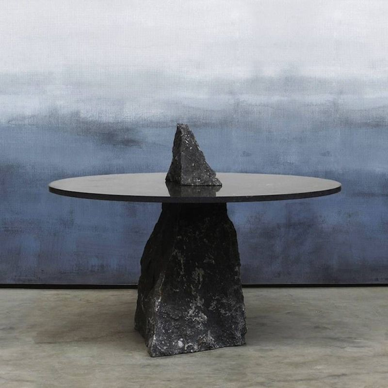 A collection of stone tables by lex pott tables stone for Nicholas sparks black mountain furniture collection