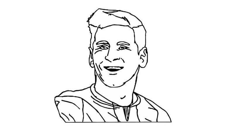 Messi Coloring Pages Face Coloring Pages Printable Coloring Flag Coloring Pages