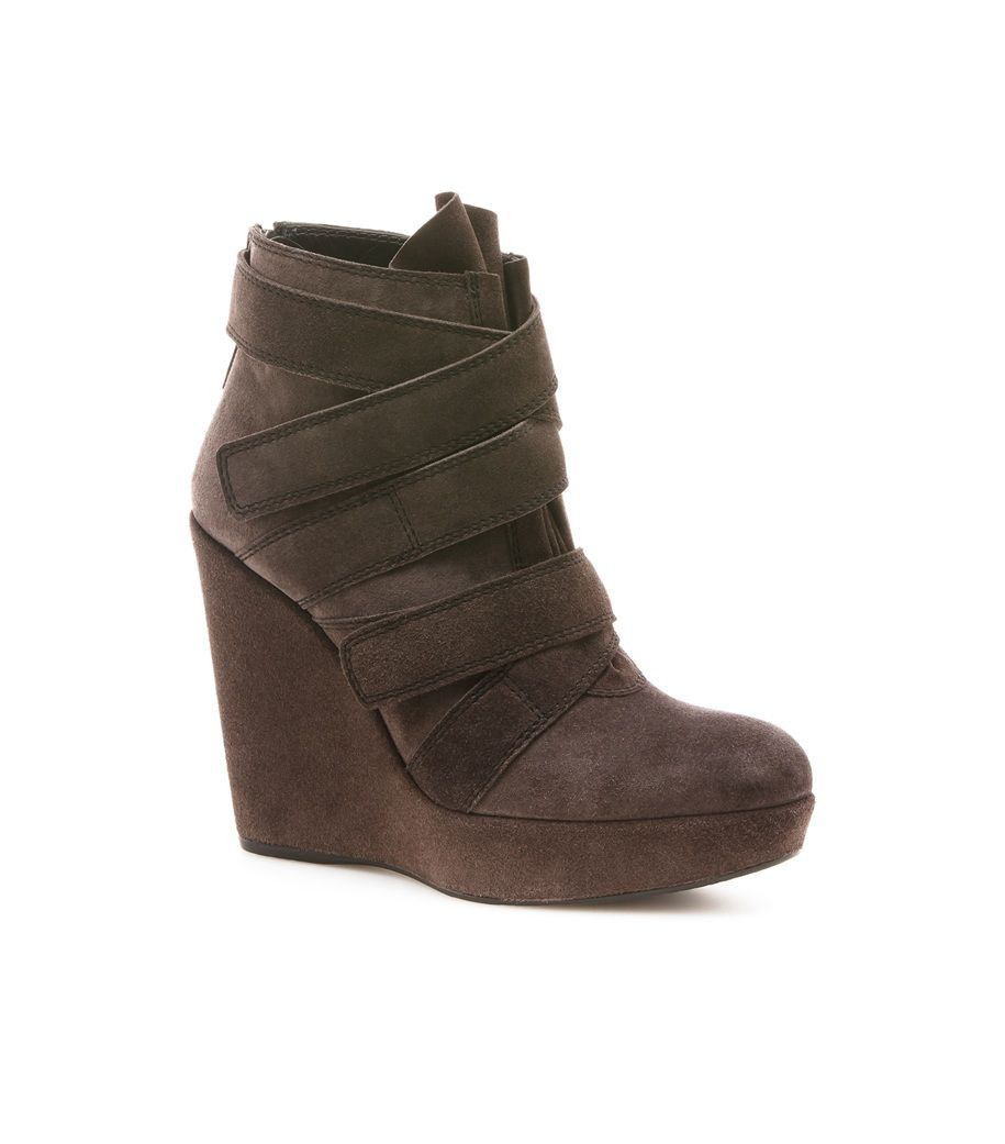 Stuart Weitzman Wildchild Suede Wedge Booties sale fake buy cheap amazon sast for sale discount newest YyiDZzzt