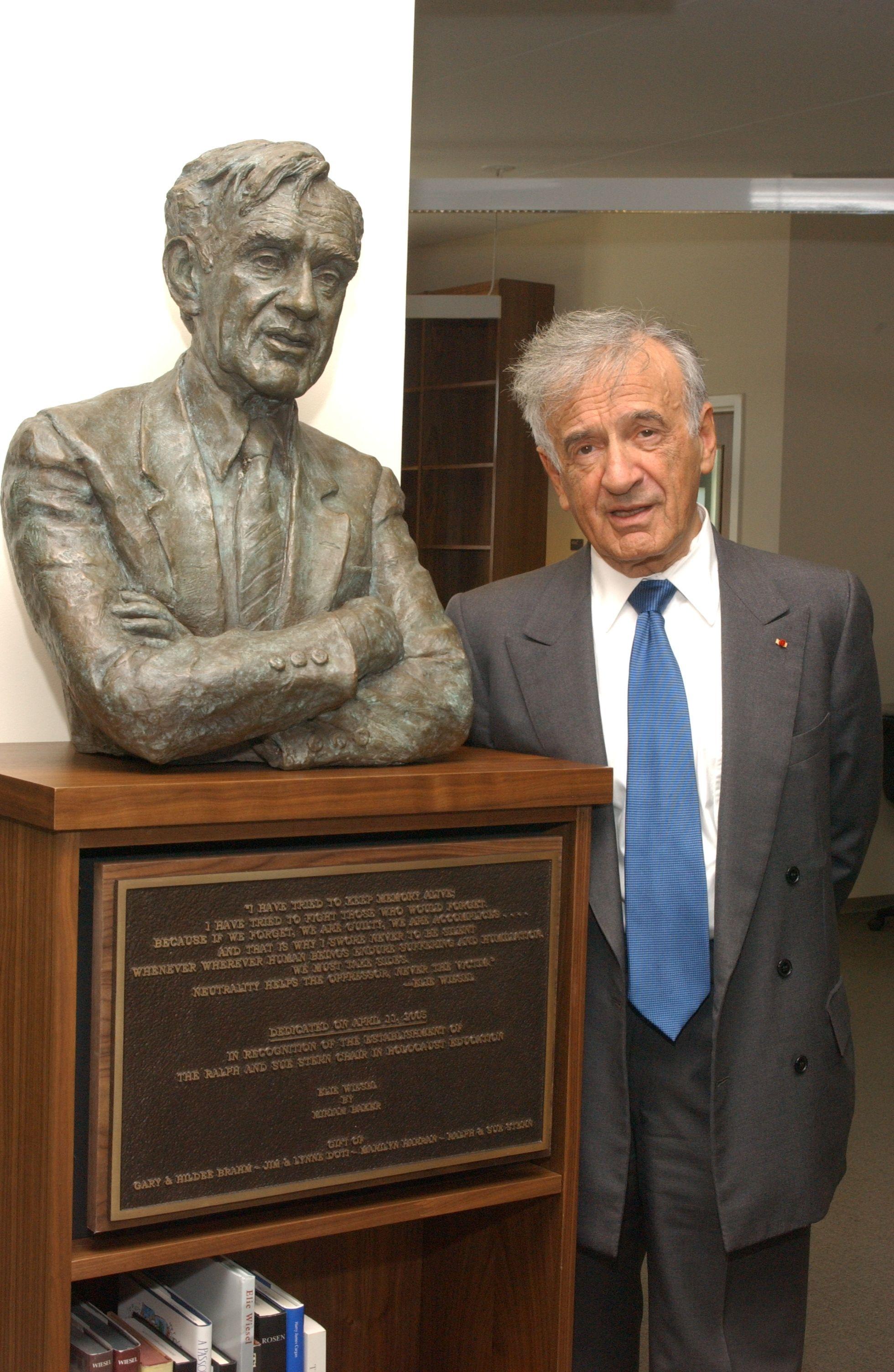 Elie Wiesel and his Nobel Prize | LÍDERES DE ISRAEL | Pinterest