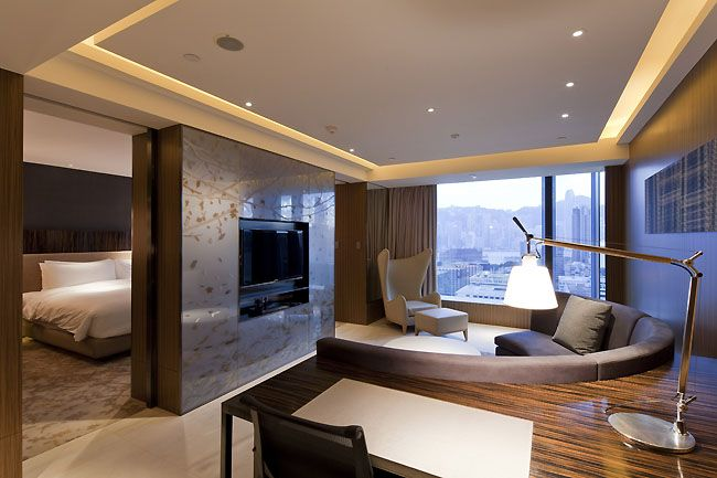 Room Interior Design Club 65 Suite Hotel Icon Hong Kong