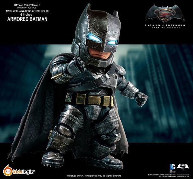 Kids Logic Mecha Nations Mn12 Batman V Superman Dawn Of Justice Batman Armored Version Batman Armor Batman Superman