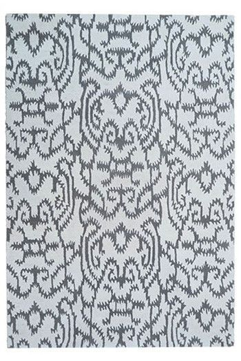 Benbrook Hand-Tufted White/Gray Area Rug