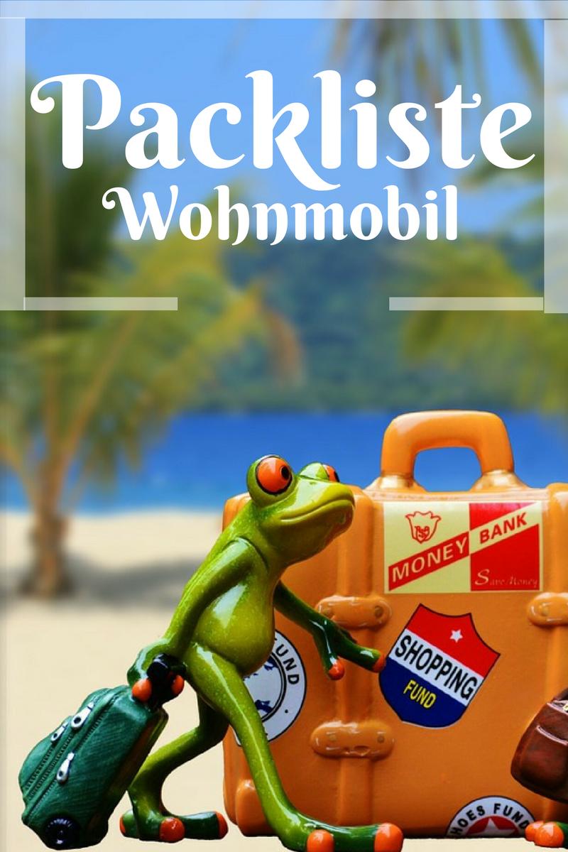 Wohnmobil Packliste und Camping Checkliste | Camping ...