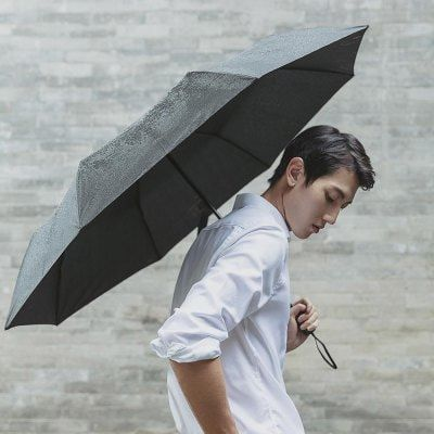 Image result for 90FUN Practical Waterproof Rainy Sunny Umbrella from Xiaomi Youpin