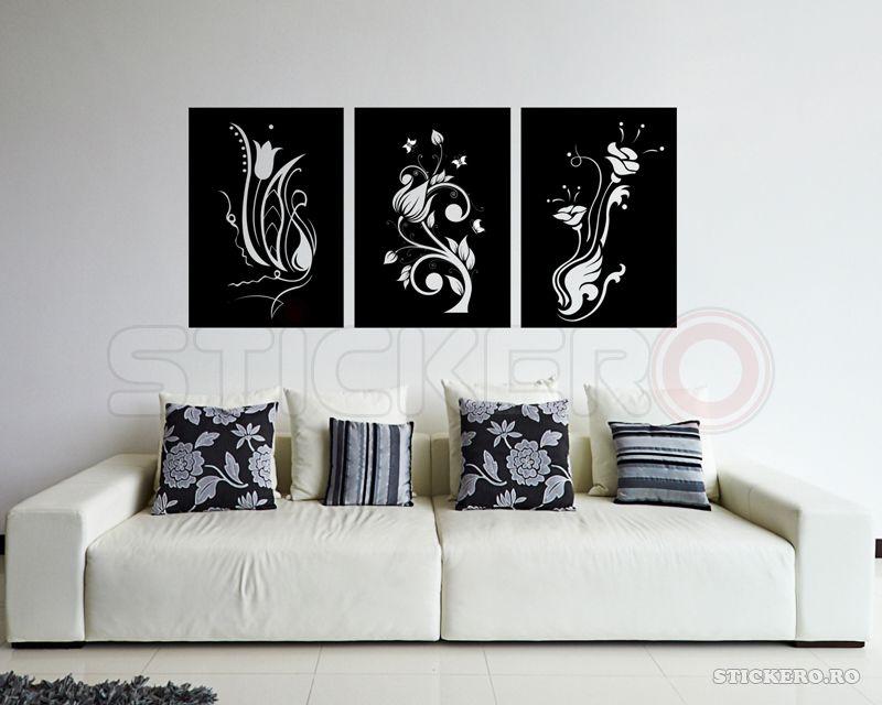 Tablouri Florale - sticker decorativ