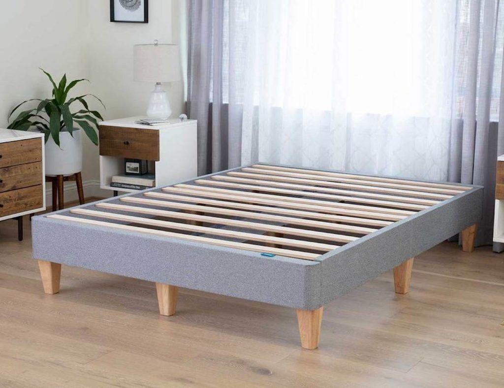 Leesa Platform Bed Easy Assembly Bed Frame Eliminates Your Box Spring Platform Bed Mattress Bed Frame Wood Platform Bed Frame