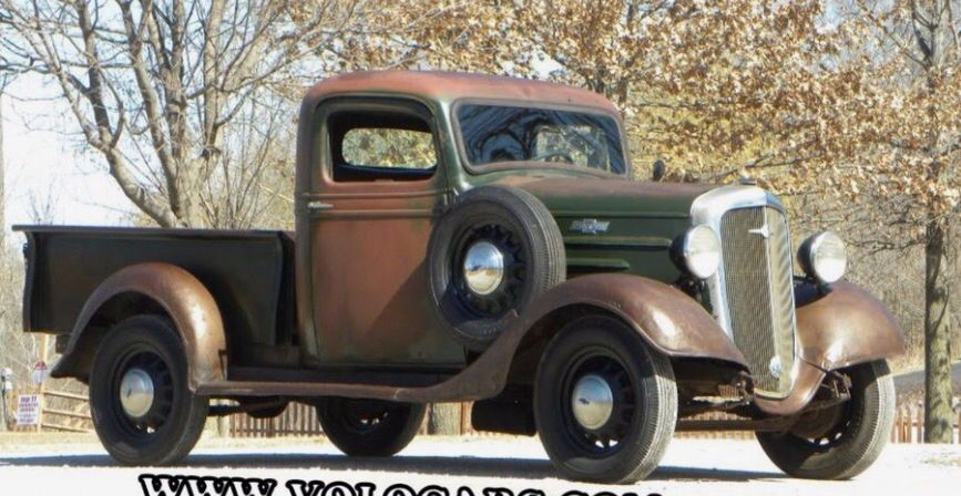 Patina Please Don T Paint This Old 1936 Chevy With Images