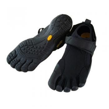 365bfa707f46a Vibram Five Fingers Mens Flow Trek Black/Black/Black Trainer M238 – 45eu  10.5UK