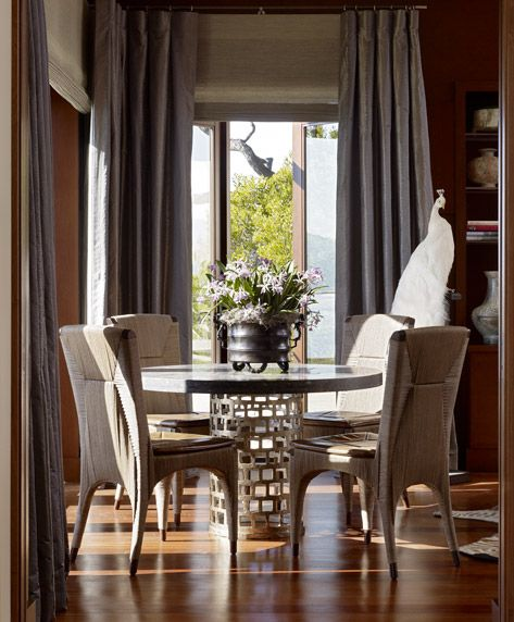 Dining Room Window Blinds Here Are Just A Few Examples Of How Conrad Handwoven Window