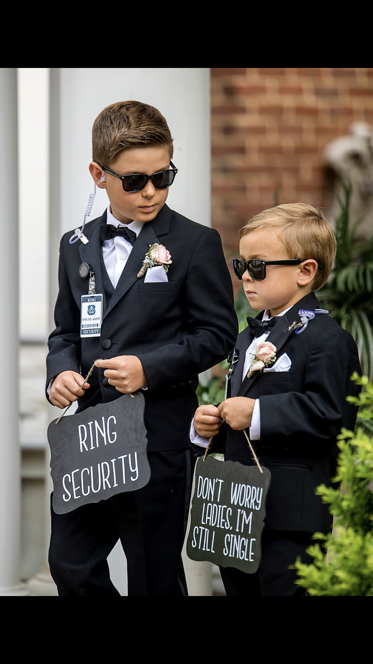 Ring Bearers Security Guards Ring Bearer Security Ring Security Wedding Bridesmaid Groomsmen Gifts