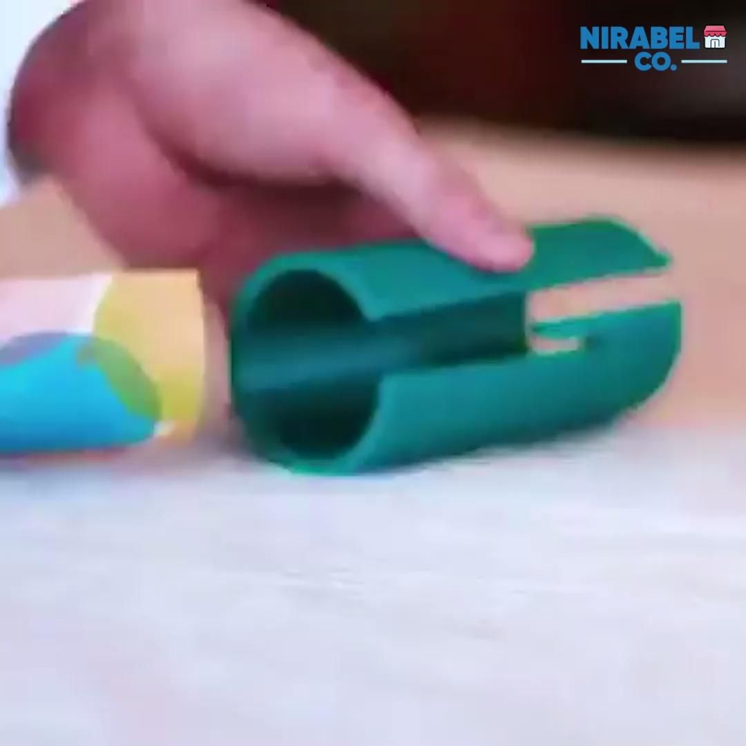 Sliding Wrapping Paper Cutter Video Wrapping Paper Cutter Wraps Gifts For Office