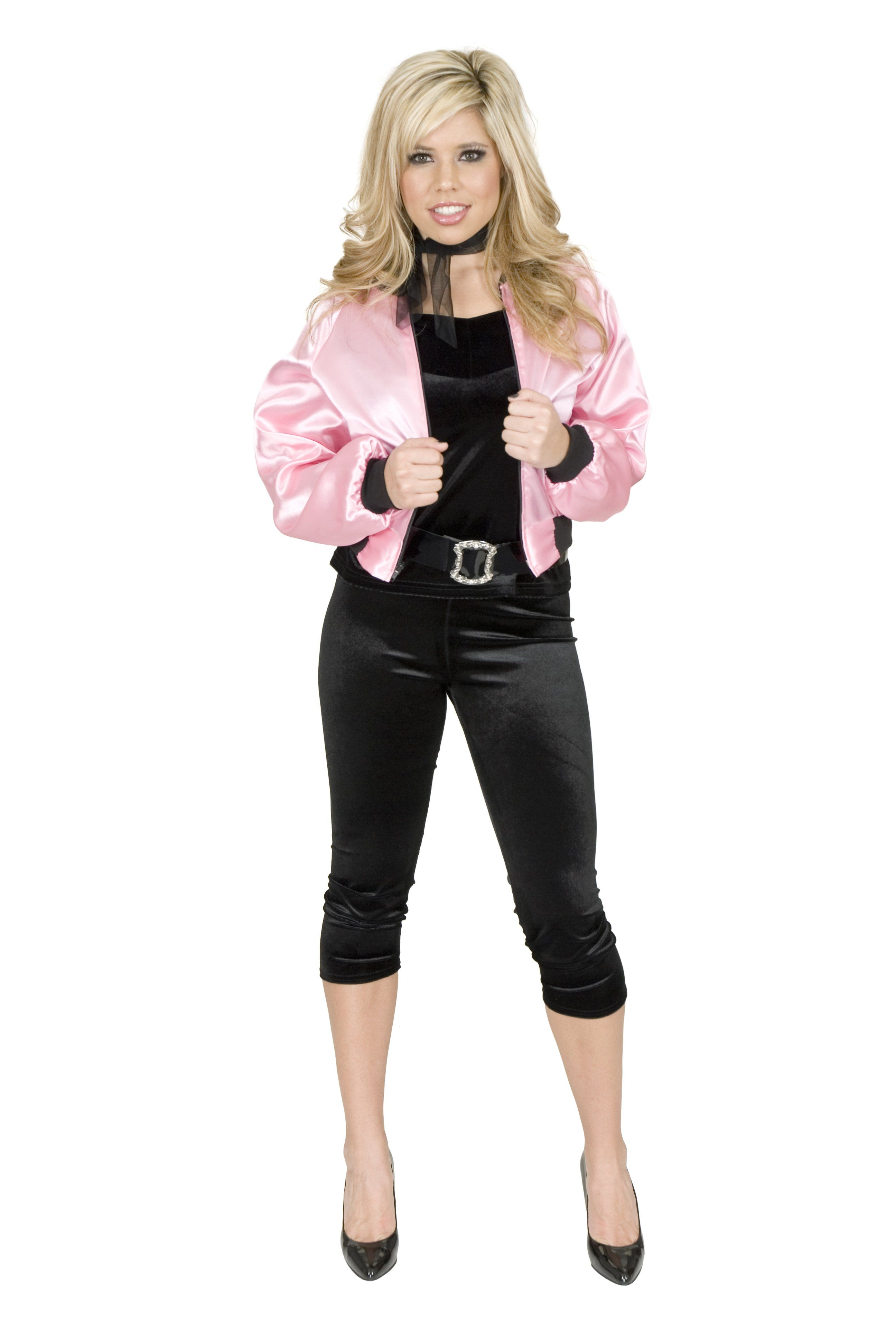 easy to duplicate outfit. Going to be one of the Pink Ladies for Halloween  sc 1 st  Pinterest & easy to duplicate outfit. Going to be one of the Pink Ladies for ...