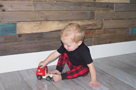 Buffalo Plaid Christmas Leggings - Red and Black Buffalo Plaid Baby