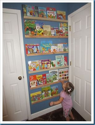 best sneakers 6f711 3d2ed Behind-the-door bookshelf. Doesn't take up any extra space ...