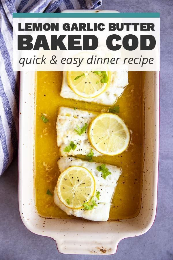 Garlic Butter Lemon Baked Cod Includes VIDEO Instructions!    If you want to cook fresh fish in the most delicious way, there are 7 simple but quite effective rules to learn. Here is the information to help you prepare the most delicious fish in the fish season.    With the autumn, the fish season started. If you want to make omega 3 and protein fish much more delicious, pay attention to these tips;    Be sure to flour bef... #Baked #Butter #Cod #Garlic #Includes #Instructions #Lemon #VIDEO