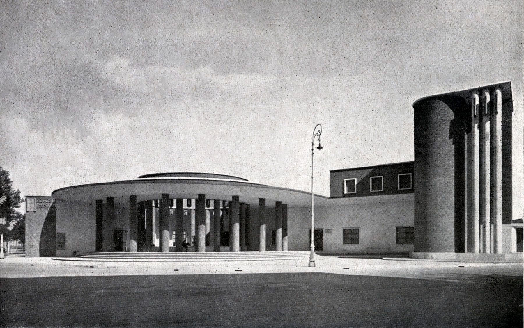 Ufficio Wikipedia : Ostia ufficio postale mazzoni edificio postale di roma lido di
