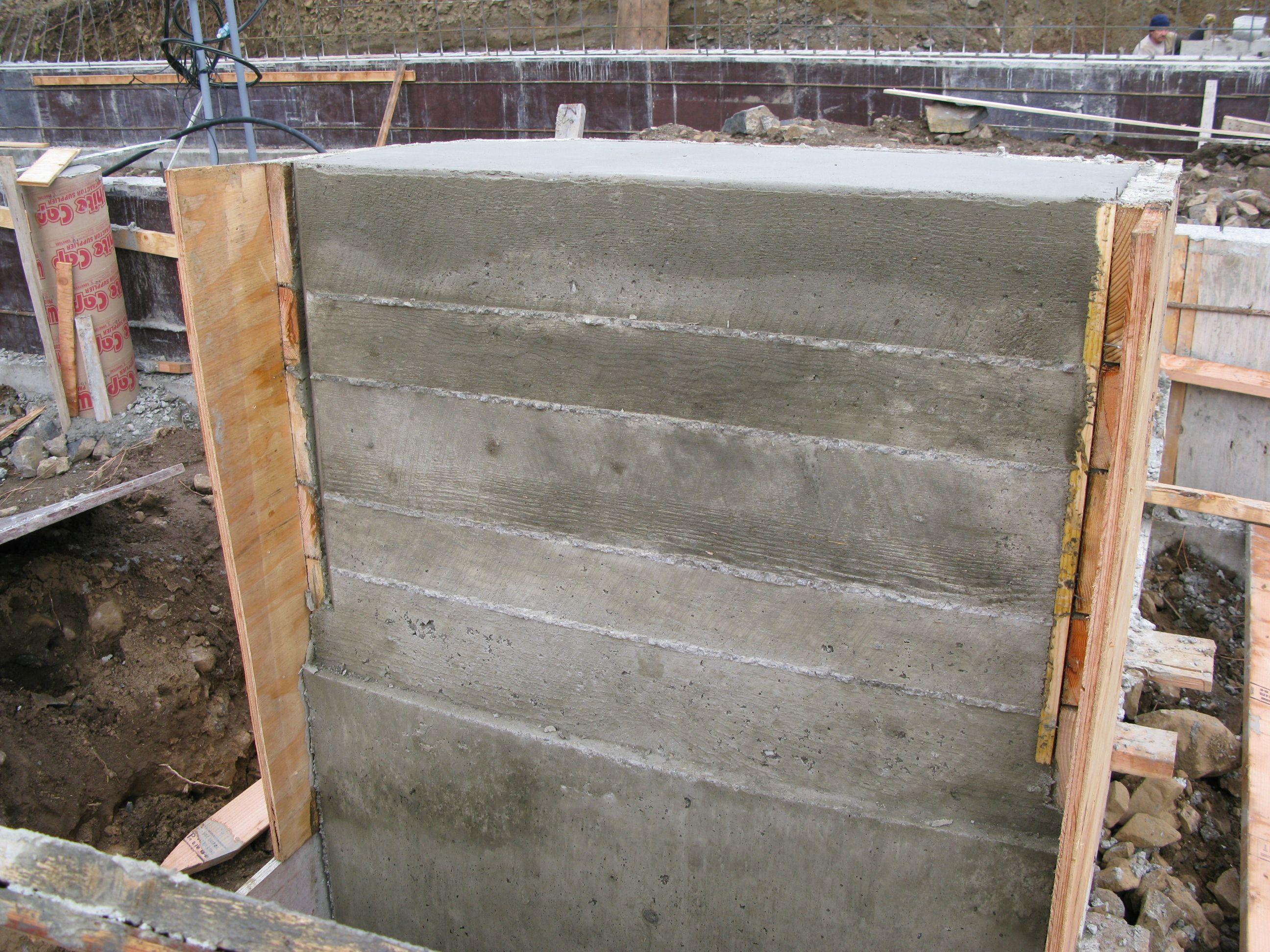 board form concrete - Google Search | Board Form Concrete ...