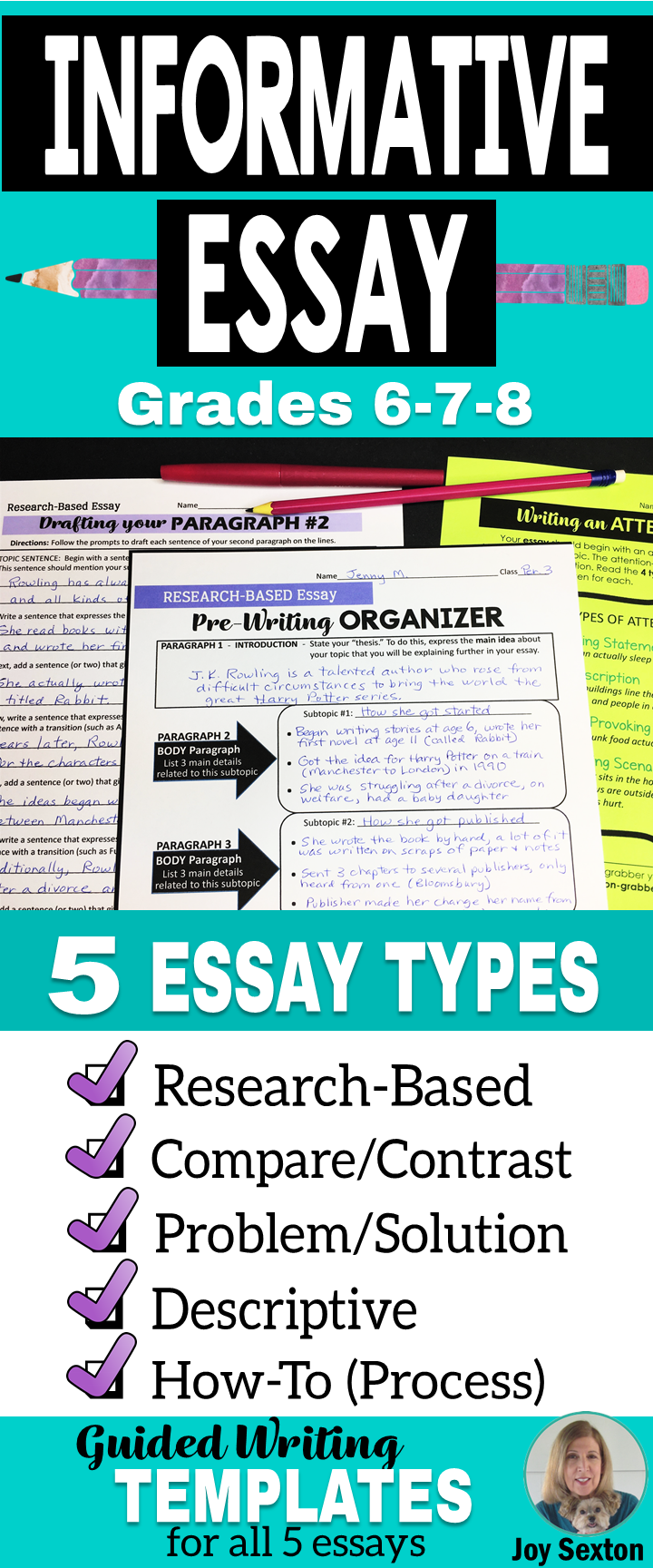 informative essay writing informational essays w guided writing  informative essay writing 5 informational essays w guided writing templates 6 8
