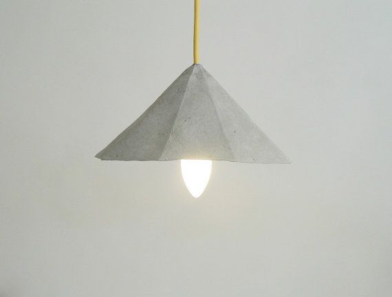 Amethyst lampada da soffitto in cartapesta di CreaReDesign