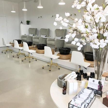 Signature Pedicure Bowl Onyx Salon Interior Design Nail Salon Interior Design Salon Decor