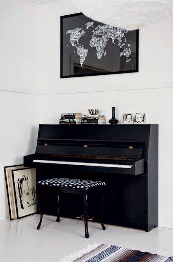 Maison noir et blanc  couleurs d\u0027un intérieur chaleureux - Clem