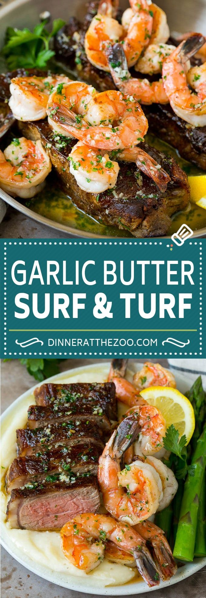 Photo of Surf and Turf Recipe – Dinner at the Zoo