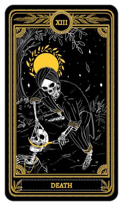Amrit Brar Major Arcana The Marigold Tarot 2017 Learningtarotcards Tarot Karten Tarot Karten Kunst Dunkle Kunst