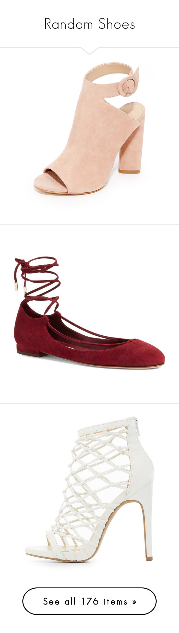 """""""Random Shoes"""" by allyssister ❤ liked on Polyvore featuring shoes, boots, cut out shoes, leather high heel shoes, real leather shoes, high heeled footwear, genuine leather shoes, flats, bordeaux su and ankle wrap ballet flats"""