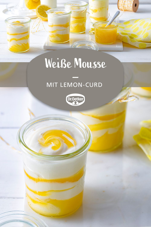 Photo of Weiße Mousse mit Lemon-Curd