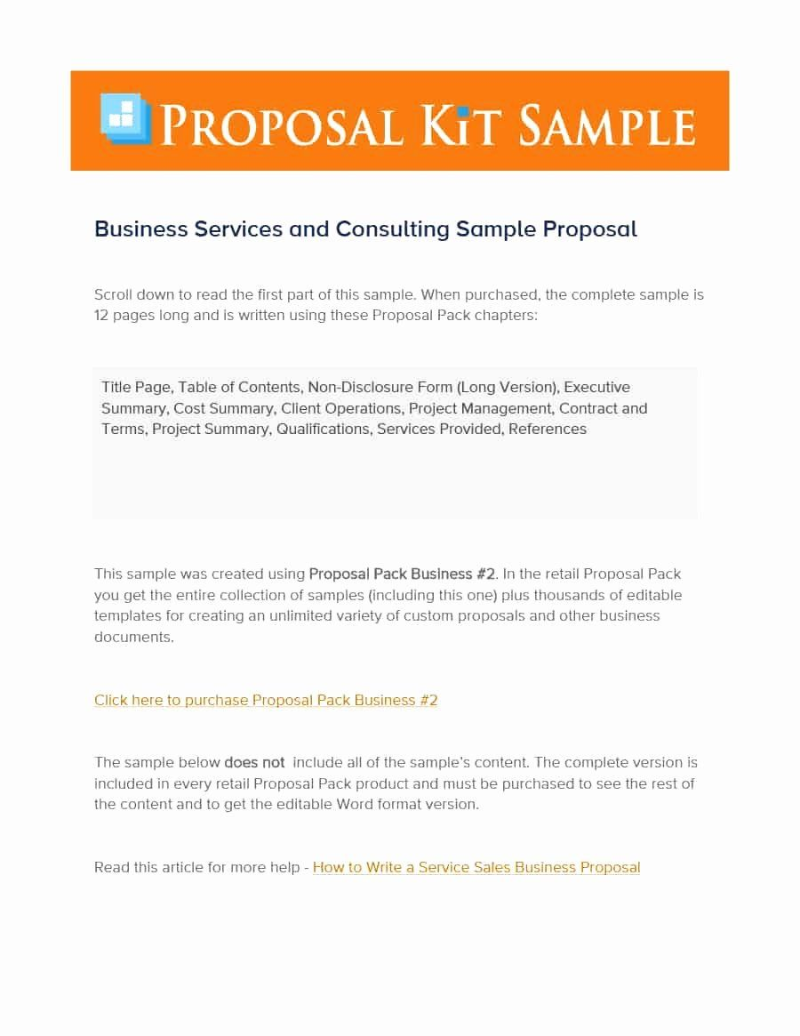 Consulting Proposal Sample Pdf Lovely 39 Best Consulting