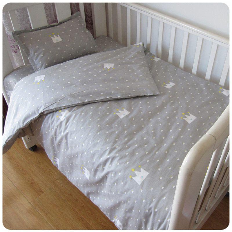Bezpłatne Shipp 3 Sztuk Bawełna Pościel Szopka Zestaw Kreskówki Pościel Dla Dzieci Zestaw Obejmuje Poszewkę Prześcier Baby Bedding Sets Baby Bed Bed Linen Sets