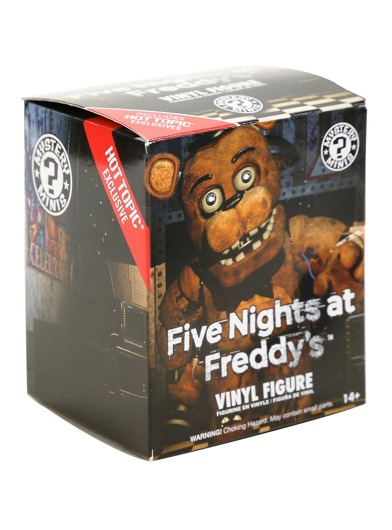 Five Nights At Freddys Funko Mistery Minis 6Cm Rare Hot
