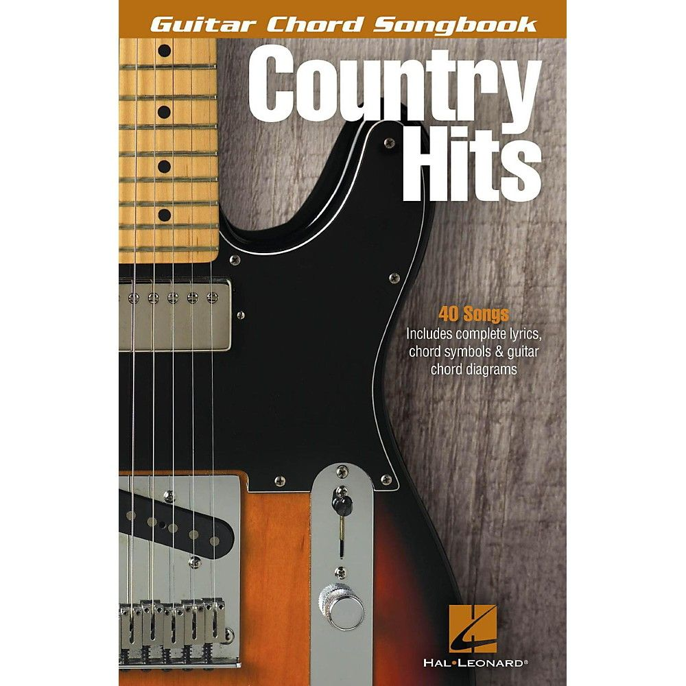 Hal Leonard Country Hits Guitar Chord Songbook Products