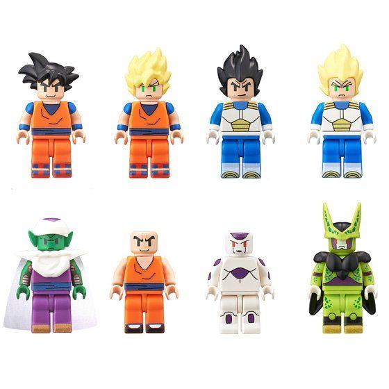 Bandai Figmes Les Mini Figurines Dragon Ball Super Dbz Chiffres Lego Dragon Ball Super Anime