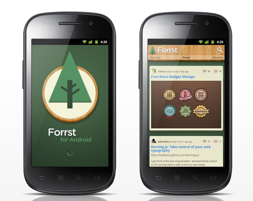 design android app