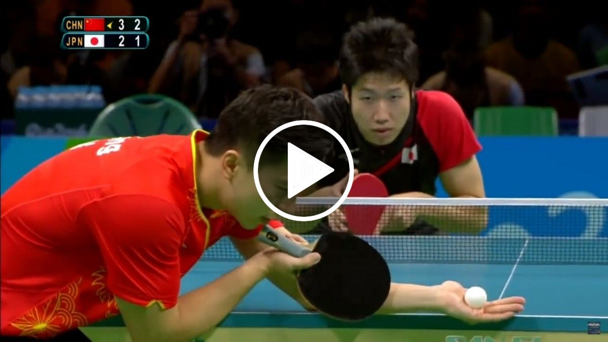 Top 10 Best Table Tennis Points 2015 2016 Trend Tube Videos With Images Table Tennis Tennis Trending Videos