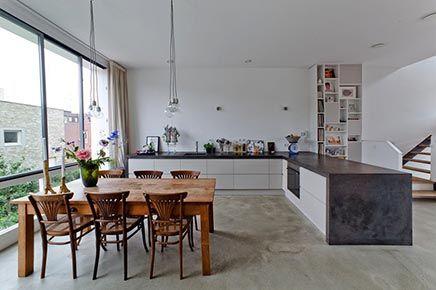 Modern herenhuis te koop ijburg amsterdam casas pinterest