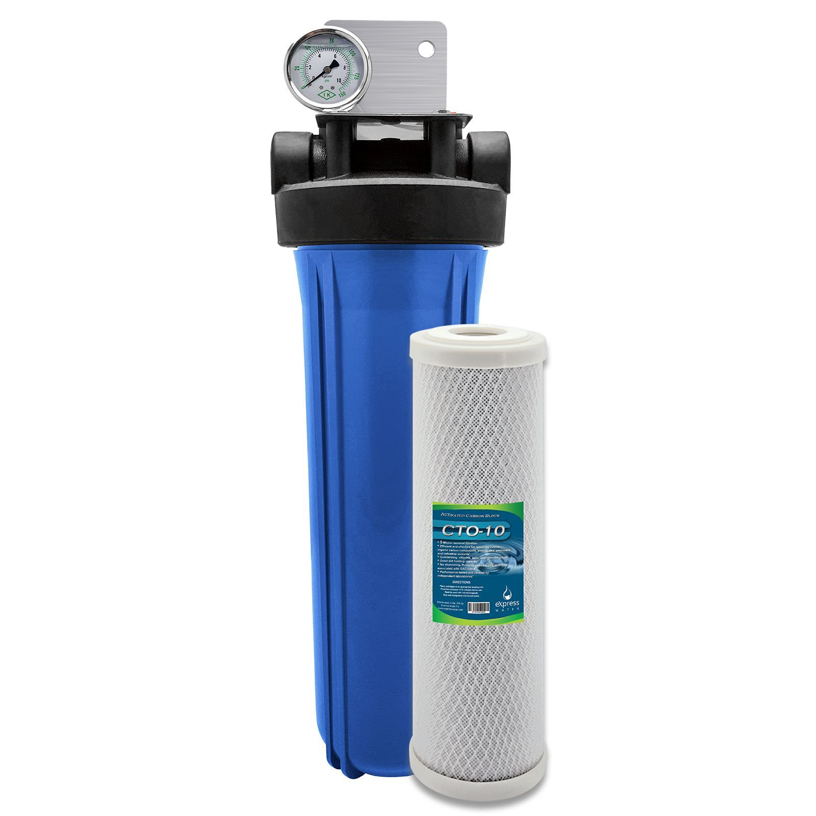 Whole House Water Filter System 1 Stage Carbon Filtration 4 5 Whole House Water Filter Home Water Filtration Water Filtration System
