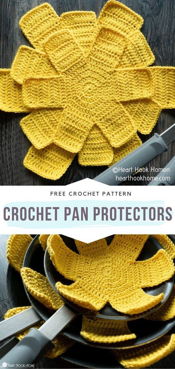 Easy Home Accessories Ideas and Free Crochet Patterns